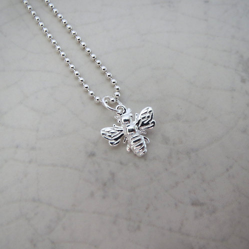 Bee Necklace Ball Chain