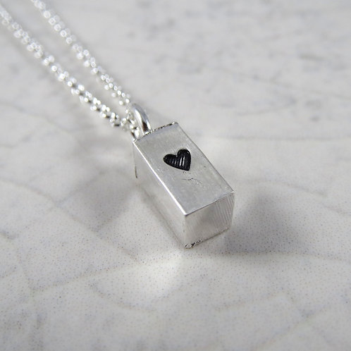 Heart Ingot Necklace