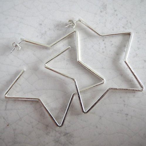 Wire Star Hoop