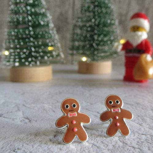 Gingerbread Man Stud