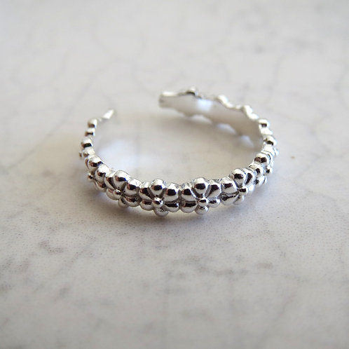 Floral Band Toe Ring