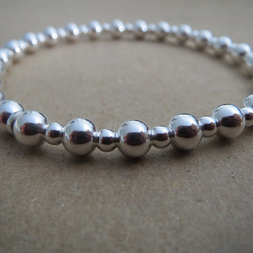 Stretch Ball Bracelet - Mixed
