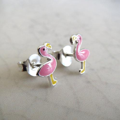 Flamingo Stud - Pink