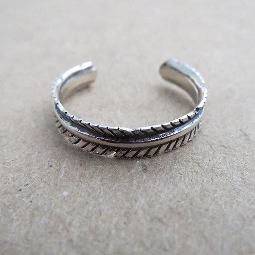 Leaf Toe Ring