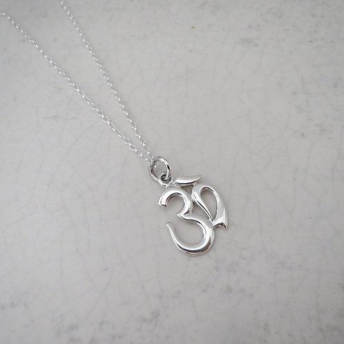 Om Long Necklace