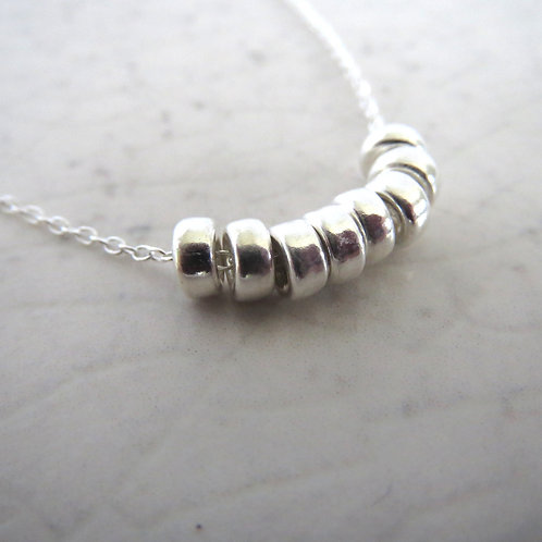 Solid Rings Necklace