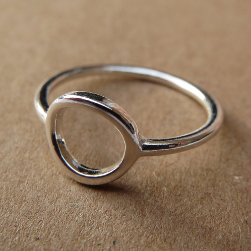 Open Circle Ring - Small