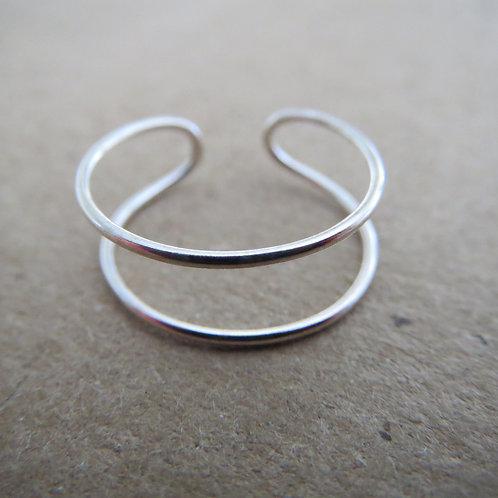 Double Band Toe Ring