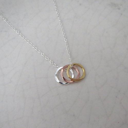 Trinity Circles Necklace