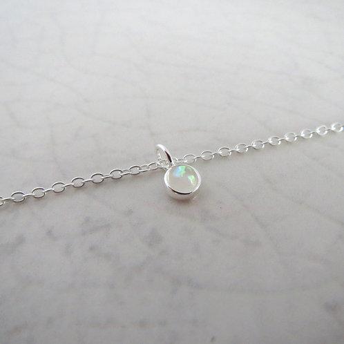 Opal Anklet