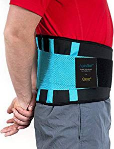 Back Support Belt, Lower Back Brace - Clever Yellow