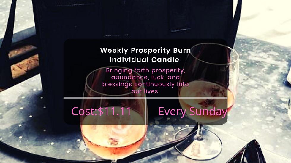Individual Prosperity Burn