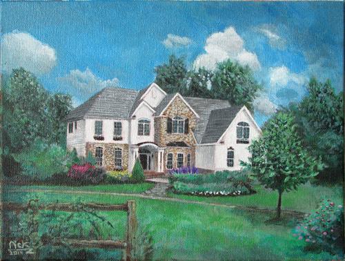 Melissa's House Portrait