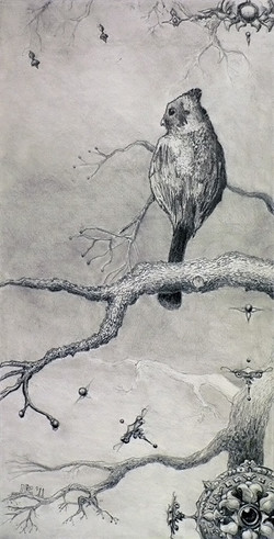 Surreal with Bird