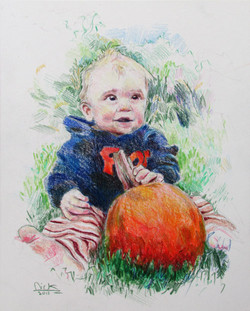 The Pumpkin Boy