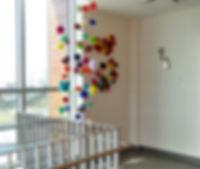 Tricot Pirate. yarnbombing, tricot-graffiti, pompons