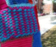 tricot pirate, tricot-graffiti, yarnbombing, karine fournier