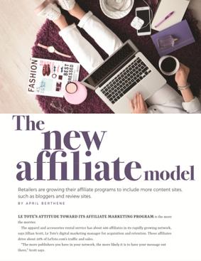 Internet Retailer: The New Affiliate Model