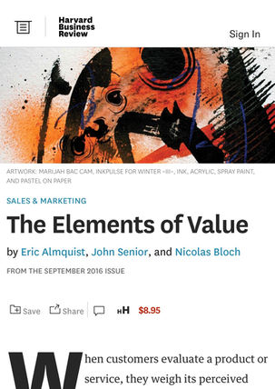 The Elements of Value