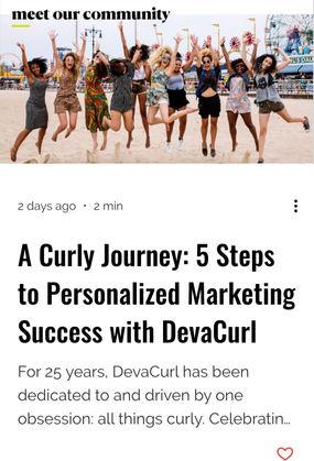 IRCE Spotlight: DevaCurl + Team Bespoke
