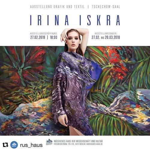 Irina Iskra. Graphics & Textiles
