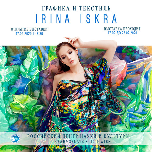 Irina Iskra. Graphics&Textiles