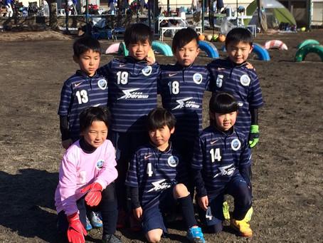 ニューイヤーセブンカップ(U8)1日目