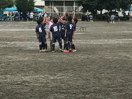 9月24日 U10後期リーグ第1節!