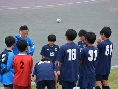 トレーニングマッチU11&12!!