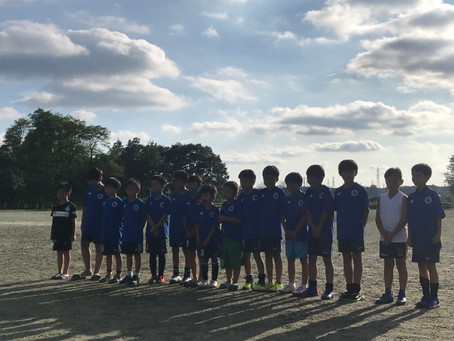 地域リーグ後期U10!