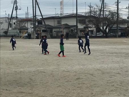 12月24日トレーニングマッチ!!