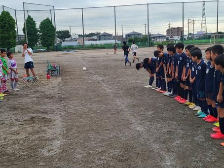 トレーニングマッチU12!!
