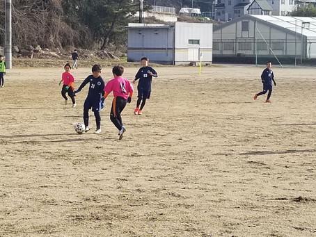 トレーニングマッチU11!