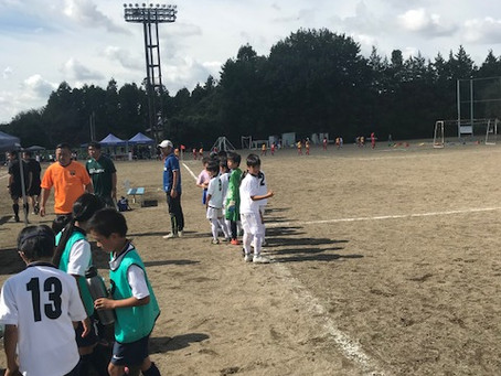 10月8日(日)アミスタカップU10!!