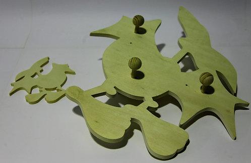 Percha dinosaurio Pterodactilo A y figura