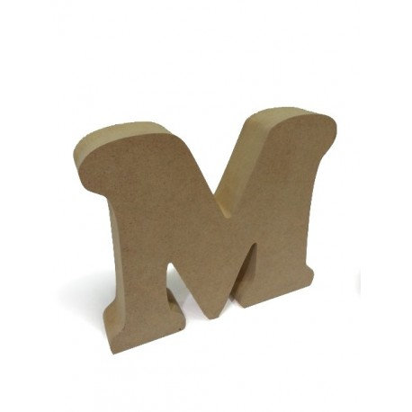 Letra en DM M pequeña 12x2,2