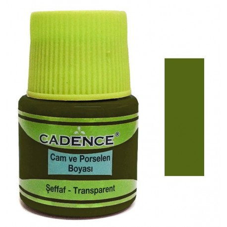 Vitral Cadence VERDE ACEITE 45ml.