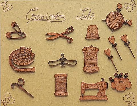 Kit de costura 14 piezas