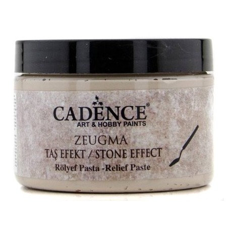 ZEUGMA Pasta Relieve Efecto Piedra MEDOS 150ml.