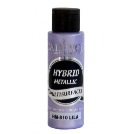 Lila 70ml. Hybrid Metallic Cadence