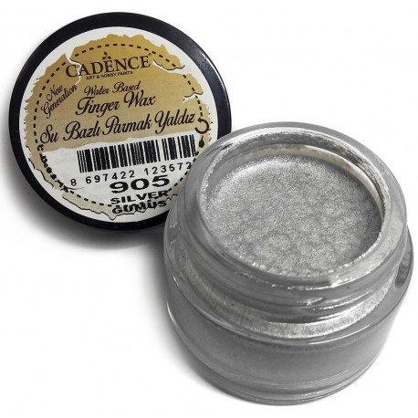 Dorado en crema PLATA 20ml. Figer Wax Cadence