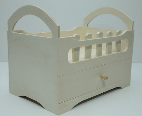 Cesta granja con cajón 32x25x20