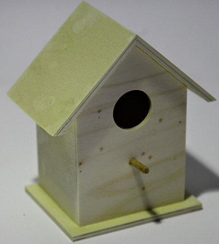 Casa pájaros alta 15x17x10