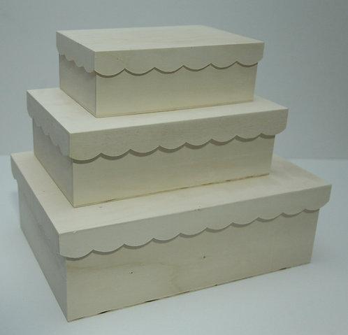 Juego cajas onda A, B, C
