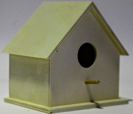 Casa pájaros baja 15x14x11