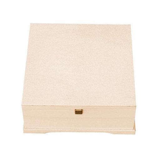 Caja con divisiones 2 pisos 34x14x34