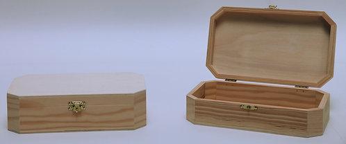 Caja octogonal 20,5x5x12