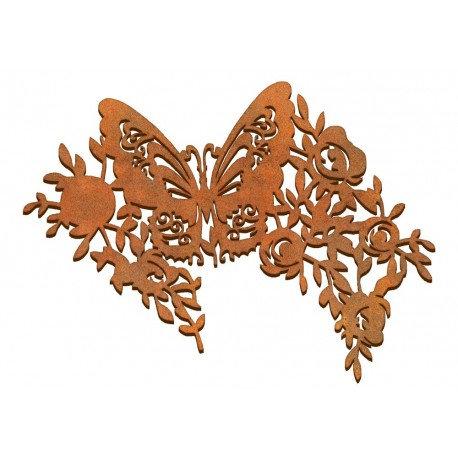Mariposa primavera grande Siluetas DM 25x22