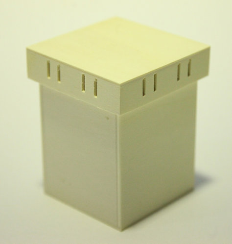Caja con ranura para cintas A 9x11x9