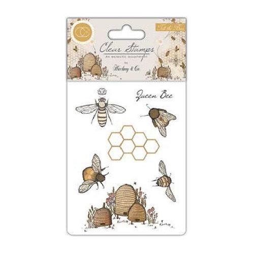 Sellos TELL THE BEES de craft Consortium